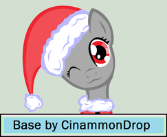 Christmass-y Pony Base by CinammonDrop