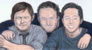 Norman, Andrew, Steven by gagambo