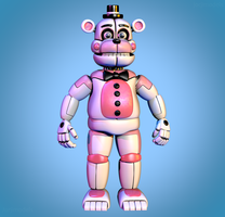 Funtime Freddy Extras Pic Remake by jorjimodels