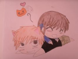 Tohru and Kyo by BigTimeFragility