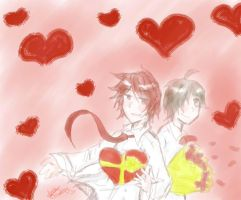 Happy V Day Ladies~ by riamarie33