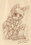 Commission Sketch : Sofi by PenguinEXperience