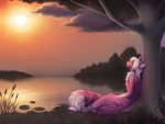 By The Lake by Neko-Maya