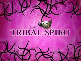 GIMP-Tribal-Spiro-Brush by Chrisdesign