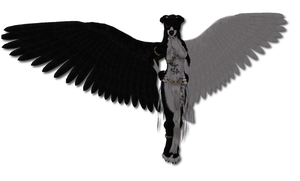 If... Stryder were an angel? by MisteriaWolf