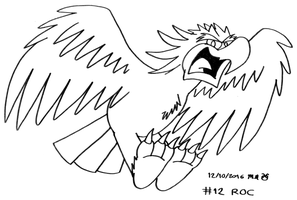 Monster A Day #12: Roc by BluebottleFlyer