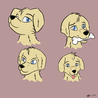 Some Dog Heads by RoverJack