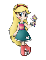 Star Butterfly by michelle09465