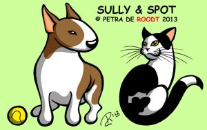 Sully and Spot by spaceship505