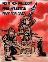 for the brave fighters (mujahidin) by ujangzero