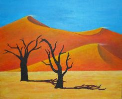 The Desert by Meralia