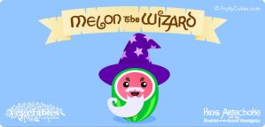 Melon the Wizard by FruityCuties