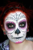 Sugar Skull by HelianthusMay