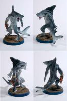 Wereshark Figurine by DarciGibson