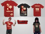Green Day T-Shirt Design by Sabaku-no-Chente