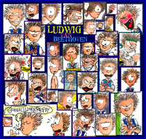 Ludwig Collage by hankinstein