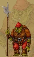 Goblin Red Cap by ChristianHolmes