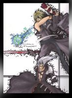 Cloud vs. Sephiroth by XANGELOS