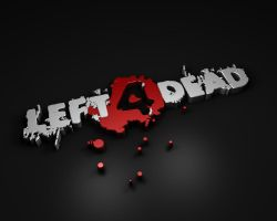 Left 4 Dead Wallpaper - Black by Vancete