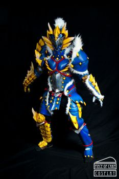 Zinogre Armor Monster Hunter 02 by Dewbunch