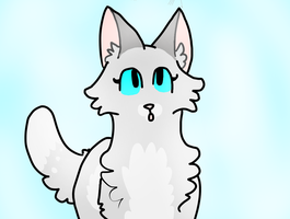 Dovewing doodle by Harryfly