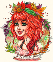 AUTUMN Melody by FROZENVIOLINIST