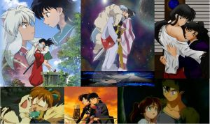 Inuyasha Couples Collage by InuyashaRules6596