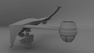 HK-Drone WiP - Half 02 by WilliamTownsend
