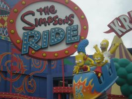 The Simpsons Ride by NESToperative