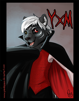 Halloween badges: YXM by pandapaco