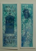 Doctor Who Bookmarks by Lamorien