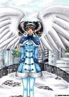 Winter Angel by Mana-Kyusai