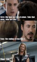 Big Man In A Suit. (SPOILERS FOR IRON MAN 3!) by Cazza2010
