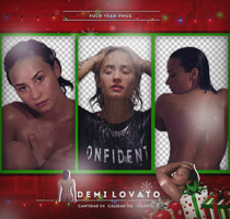 Pack png: Demi Lovato by ValentinaDontiWanna
