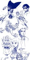 Young Justice by kissai