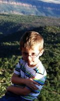 Portrait of my Son by Morna