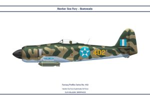 Fantasy 402 Sea Fury Guatemala by WS-Clave