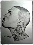 Chris Brown Drawing by EWALK131