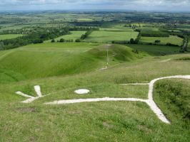 White Horse of Uffington by Thorskegga