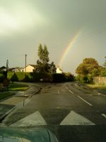 Pit Stop Rainbow.. by InTheNameOfSalvation