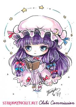 Patchouli Knowledge Commission by StarMasayume