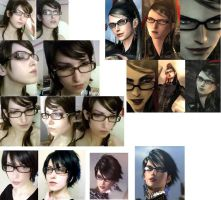 Bayonetta Makup and hair test. by LiKovacs