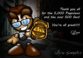 5000 Pageviews by TheoSar