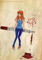 Clary Fray by GinnyAsakura