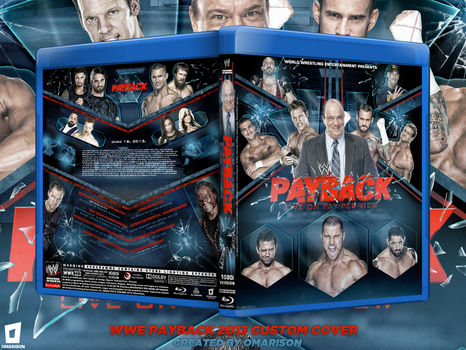 WWE Payback 2013 Blu Ray Cover by Omarison