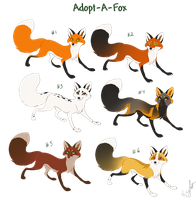 Adopt-A-Fox Auction 1 [Closed] by KayFedewa