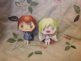 Piperus papercrafts by SongMina
