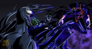 Venom vs Nightcrawler by Barrin84