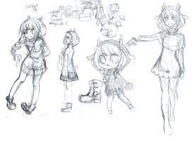 Corbet Sketches by why-yari