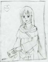 My first drawing.. Lucius. by Magegirl-Nino